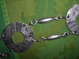 Пояс из тяж.металла в скандинавском стиле - реконструктору, фото №10
