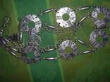 Пояс из тяж.металла в скандинавском стиле - реконструктору, фото №13