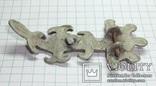 Серебряная фибула периода ЧК/ПК., фото №4