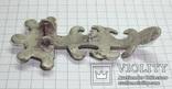 Серебряная фибула периода ЧК/ПК., фото №5
