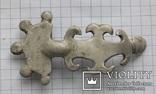 Серебряная фибула периода ЧК/ПК., фото №9