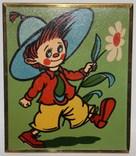 """Картинка из детской серии 1970-80 гг. """"Незнайка"""" (УССР), фото №3"""