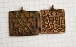 Складень бронза, фото №4
