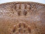 Сумка.кожа крокодила.ручная работа.винтаж, фото №3