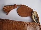 Сумка.кожа крокодила.ручная работа.винтаж, фото №13