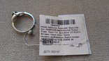 Серьги и кольцо серебро 925 с гранатами и цирконами., фото №5