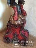 Старовинний торшер (дерево), фото №4