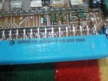 Плата АТС ( микросхеммы 40 шт в позолоте+ разйом СНП 49 НА 56 контактов внутри позолота), фото №4