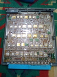 Плата АТС ( микросхеммы 40 шт в позолоте+ разйом СНП 49 НА 56 контактов внутри позолота), фото №2