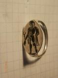 Древнегреческий перстенъ 3-4 век до.н.еры копия серебро, фото №2