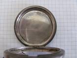 Серебряный корпус часов J.F.Boutte с тремя крышками, фото №6
