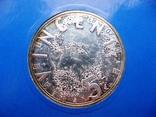 """Нидерланды, 5 серебряных евро 2003 """"Ван Гог"""" в официальной упаковке IMPORTA, фото №4"""
