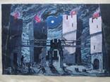"""""""Гамлет""""сценография, б.гуашь, Мартин Вигдор Кордонский, фото №3"""