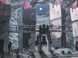 """""""Гамлет""""сценография, б.гуашь, Мартин Вигдор Кордонский, фото №5"""