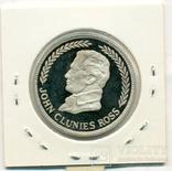 25 рупий (KEELING) Килинг Кокосовы о-ва 1977г. серебро, фото №3