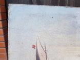 Картина Морской пейзаж автор Писоттин, фото №3