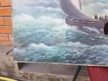 Картина Морской пейзаж автор Писоттин, фото №6