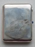 Портсигар СССР серебро 875*, фото №2