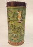 Коробка от чая.  Металл, жесть. Китай., фото №3