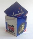 Коробка от чая LONDON.  Металл, жесть., фото №2