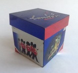 Коробка от чая LONDON.  Металл, жесть., фото №8