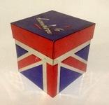 Коробка от чая LONDON.  Металл, жесть., фото №12