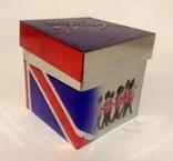 Коробка от чая LONDON.  Металл, жесть., фото №13