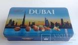 Коробка от конфет Дубай. Металл, жесть., фото №3