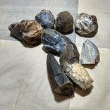 Нуклеуси та камені за допомогою яких робили кремнієві знаряддя праці, фото №6