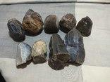 Нуклеуси та камені за допомогою яких робили кремнієві знаряддя праці, фото №2