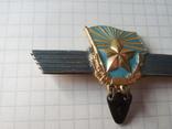 Знак сверхсрочно служащий СССР Авиация, фото №4