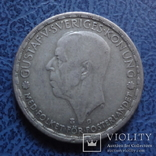 1 крона  1943  Швеция  серебро   (2.6.20)~, фото №3