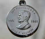 Медаль Джон Кеннеди центр 1961-1963г, фото №2