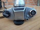 Фотоапарат EXA 500 Jhagee DRESDEN з обєктивом Meritar 2.9\\50 E. Ludwig, фото №4