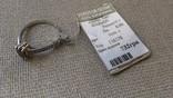 Серьги и кольцо серебро 925 с раухтопазами и цирконами., фото №4