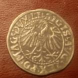 1547 полугрош Литва 1547 Пагоня Всадник, фото №4