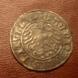 1509 Полугрош Литва 1509 Пагоня Всадник, фото №6