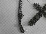 Крестик с камушками, фото №5