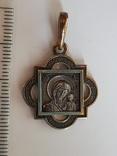 Нательная иконка. Серебро 925 проба., фото №3