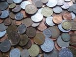 Большая Гора иностранных монет без наших. 323 штуки фото 3