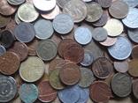 Большая Гора иностранных монет без наших. 323 штуки фото 11