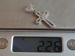 Крестик нательный. Серебро 925 проба., фото №8