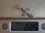 Крестик нательный. Серебро 925 проба., фото №9