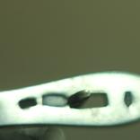 Серебро , золото и цирконы .Комплект из дух сережек и кольца, фото №9
