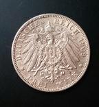 Вюртемберг. 3 марки 1909 р. Вільгельм ІІ, фото №5