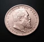 Вюртемберг. 3 марки 1909 р. Вільгельм ІІ, фото №6