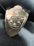 Солдатская классность значок знак эмаль заколка Павловский сувенир старый, фото №4