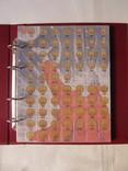Комплект листов с разделителями для разменных монет СССР 1961-1991гг., фото №2