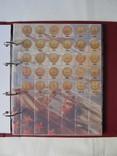 Комплект листов с разделителями для разменных монет СССР 1961-1991гг., фото №4