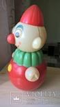 Неваляшка Клоун Детская игрушка Целлулоид СССР, фото №5